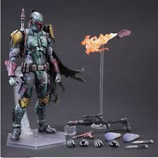 2016 Hot new Play Arts Star Wars The Force Awakens Boba Fett Action Figure