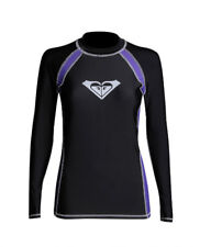 NEW! AUTHENTIC WOMEN'S LONG SLEEVE RASHGUARD SWIMWEAR (BLACK, SIZE XL)