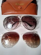 e5f4f231bf Vintage FERARRI Sunglasses P2 Aviator Brown   Amber