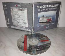 CD NEW ORLEANS JAZZ - KID ORY - SIDNEY BECHET