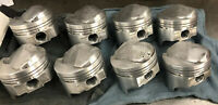 Trw Forged Pistons 427 Chevy .060 Bore 4.310 Dome 50cc 12.5/1  Pin .990 Floating