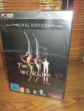 Two Worlds 2 II Royal Edition Collectors Edition PC Game  - with Figurine (NEW)