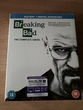 Breaking Bad The Complete Series Bluray Brand New Sealed with digital and uv