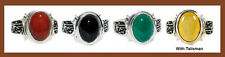 Islamic shia china agate ring silver plated - unisex (For Men or Women)