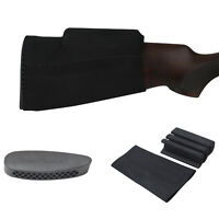 Tourbon Hunting Gun Comb Raiser Cheek Rest Riser Slip-on Stock Cover+Recoil Pad