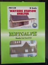 Metcalfe Kit PN139. Wayside Station Shelter. N Scale.