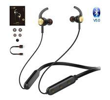 Bluetooth Headphones with Microphone Wireless Sport Magnetic Earphones...