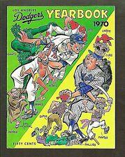 1970 Los Angeles Dodgers Yearbook, Walt Alston, Don Sutton, Steve Garvey Ron Cey