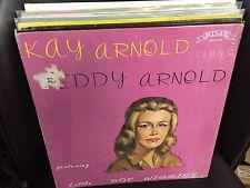 Kay Arnold Sings Eddy Arnold vinyl LP VG+ SIMS Little Roy Wiggins RARE in shrink