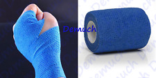 New Cohesive Support Bandage First Aid Injuries Aches Medical Wraps Flexible UK✔