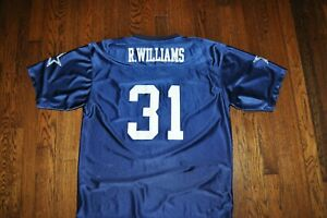 jersey xlarge roy williams nfl dallas cowboys #31 25 inches pit 32.5 inch length