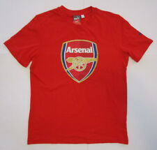 Men's Puma Arsenal F.C Training Soccer Short, New Red Gold Navy Gunners Sz M