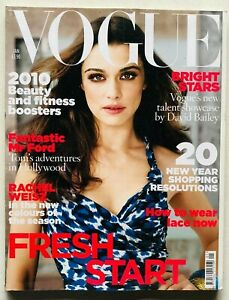 Vogue UK British magazine january 2010 gennaio Rachel Weisz Tom Craig Fashion