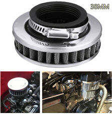 38mm Durable Stainless Steel Motorcycle ATV Scooter Air Cleaner Intake Filter