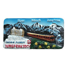 Jungfraujoch Switzerland Fridge Magnet Tourist Souvenir Home Decor Collection