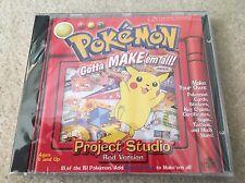 Pokémon Studio Red - Gotta Make Em All - Make & Design Your Own Pokémon - New