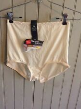 new with tags Vintage Hanes her way tan panty pantie girdle 2xl