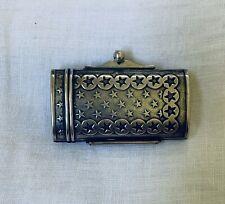 Genuine Antique Sterling Silver Box 925