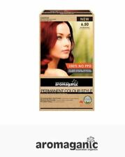 1 x AROMAGANIC Permanent Organic Hair Colour -  6.50 Rich Red Natural