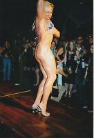 Bikini Woman FOUND PHOTO Color FREE SHIPPING Original Snapshot VINTAGE 95 30 H