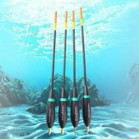 4 Pcs Fishing Floats Waggler Buoy Bobber Floats Bobbers Tackle Fluctuate To Q9N1