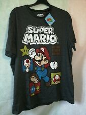 NEW Super Mario T-Shirt - Nintendo Retro Classic Cult Console Game Large