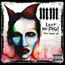 Lest We Forget: The Best Of [PA] by Marilyn Manson (CD, Sep-2004, Interscope...