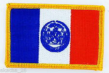 Ecusson Brodé PATCH drapeau New York AMERICAIN USA ETATS UNIS FLAG EMBROIDERED