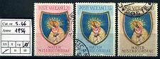 Vaticano - 1954 - Anno Mariano  - serie completa S.46 - usata