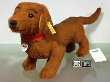 STEIFF WALDI DACHSHUND DOG - ALPACA - 35 cm / 14in. EAN 078712 RETIRED