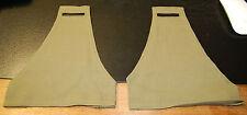 Canadian Army Green Khaki BRASSARD -cloth Arm band shoulder (pair-2)