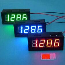 """0.56"""" Digital LED Clock Adjustable 24 Time Car Motorcycle DC 12V 24V Watch Blue"""