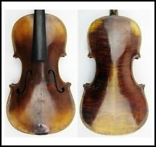 Fine Old 4/4 Violin c1900 Repaired in 1960 by E mih Heinel cllarknen Good Cond
