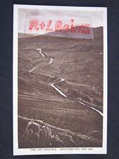 The Last Half Mile Kirkstone Pass and Inn, Cumbria, Abraham Postcard
