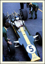 Jin Clark Lotus 49 Art Print Discounted postage for uk Orders A3