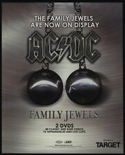 2005 AC/DC FAMILY JEWELS DVD Release VINTAGE ADVERTISEMENT