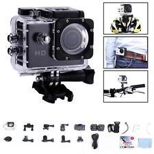 Sports 12MP HD 1080P Action Camera Waterproof Video Car Bike DV Video Black BF
