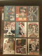45-Card Albert Pujols Cardinals Angels New Lot 2 Early Years