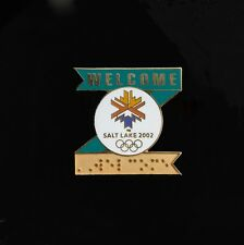 Z ribbon braille pin - Salt Lake City Winter Games