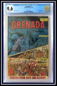 Grenada #1 *FILE COPY* (CGC 9.6 NM+) WP *CIA PRoDuCeD PRoPaGaNDa CoMiC BooK 1984