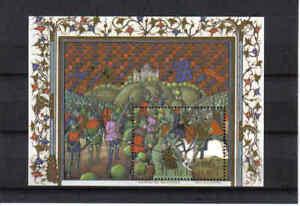 BELGIUM 2002 battle of the golden spurs M/S mnh** blok 96