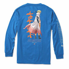 Primitive Skate x Naruto Men's Sage Long Sleeve T Shirt Royal Blue Clothing A.