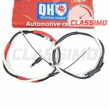 Rear Handbrake Cable Pair - PEUGEOT 306 - models with rear discs - 1993 to 2003