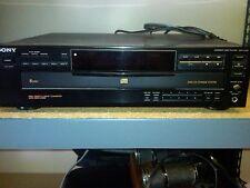 Sony CDP-C335 5 Disc CD Changer Player High Density Linear Converter