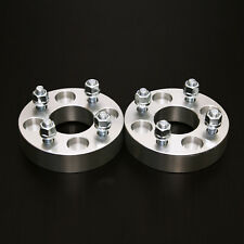 "2pc 1"" 4x100 to 4x100 Wheel Spacers 12x1.5 Studs - for Honda Acura Mazda Toyota"