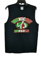GILDAN Mens Tank Top Cotton Sleeveless Mexican Muscle Tshirt Size Medium