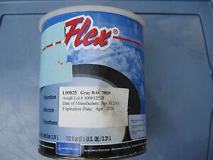 Sherwin-Williams L09825 JETFlex Urethane Paint Gray BAC70039 - 7/8 Gallon