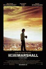 WE ARE MARSHALL - 2006 - original 27x40 REG movie poster - MATTHEW MCCONAUGHEY