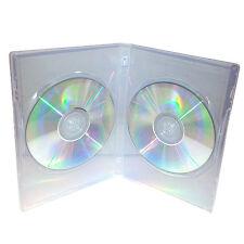 50 x vera fiume DOPPIA FACCIA A FACCIA DVD Chiaro caso della colonna da 14 mm-Confezione da 50