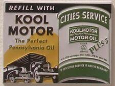 Kool Motor Pennsylvania Oil USA Tankstellen Werbung Retro Magnet Magnetschild
